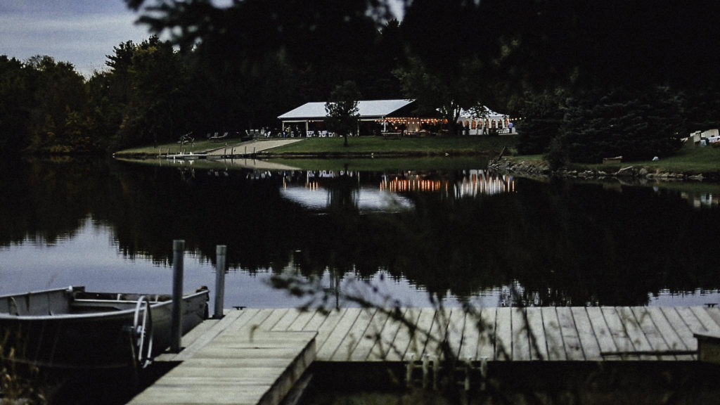 Harmon Lake Wedding Across The Pond