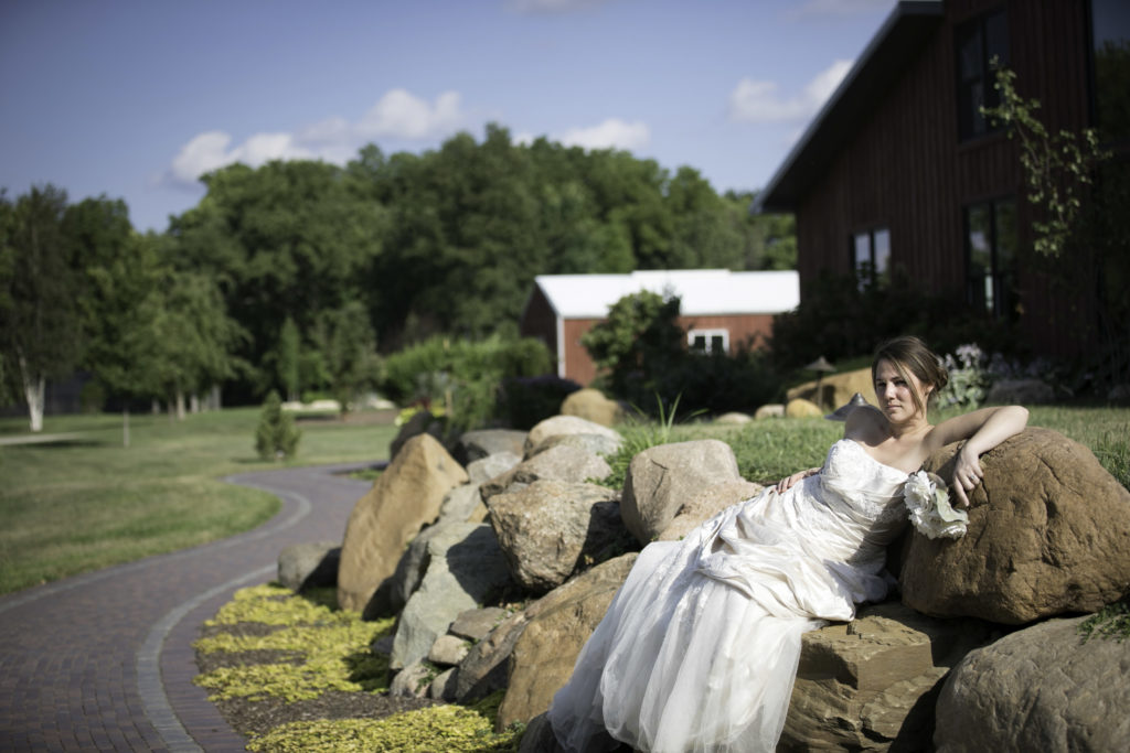 The Barn at Hornbakers Rock Bridals