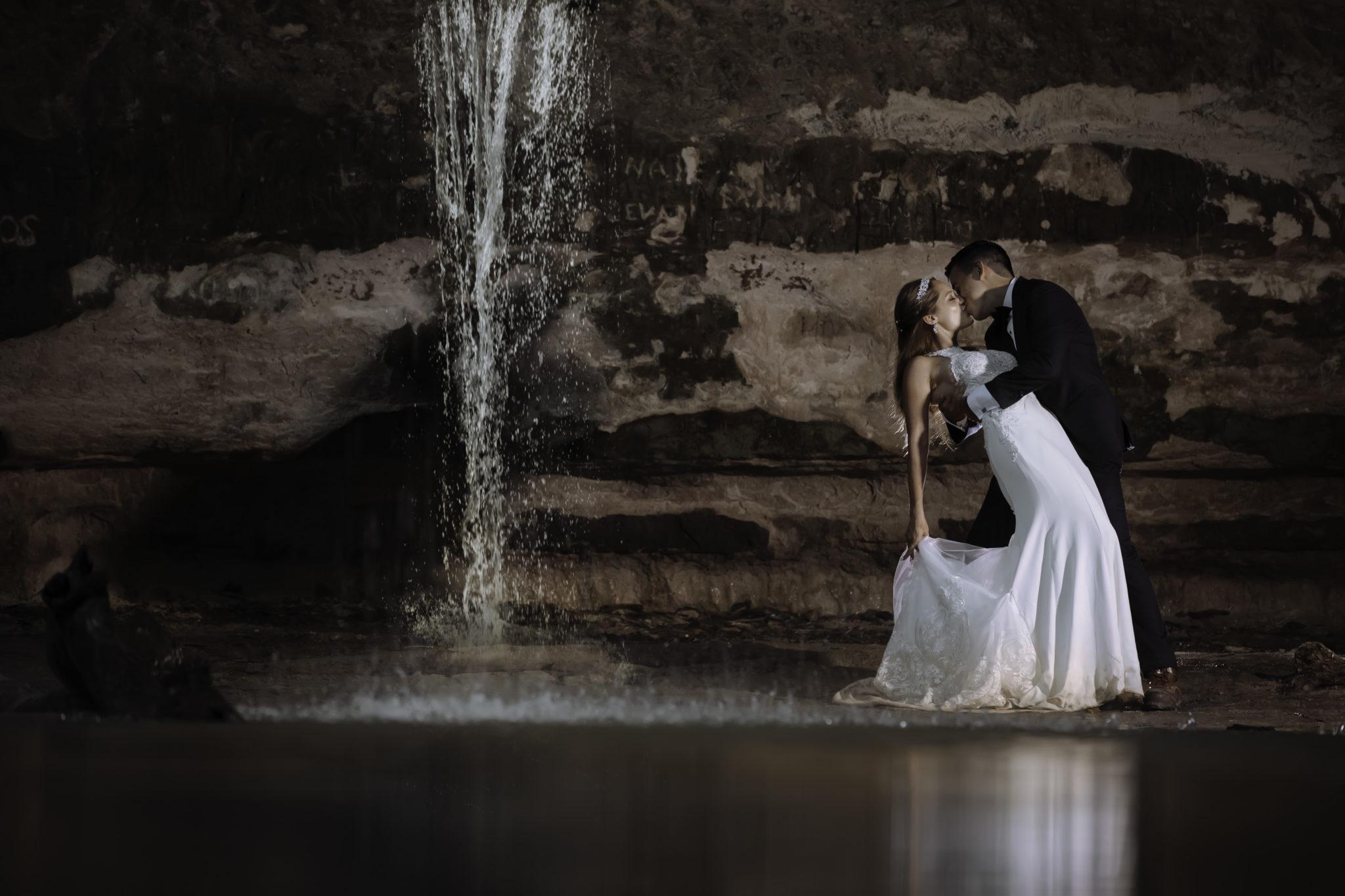 Starved Rock Weddings & Waterfalls